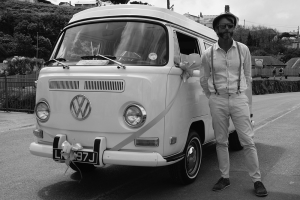 Chauffeur driven campervan Cornwall